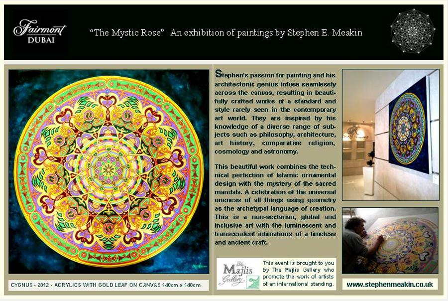 Mandala Artist Stephen Meakin
