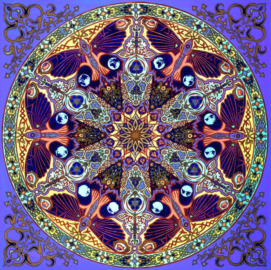 Stephen Meakin's Butterfly Mandala