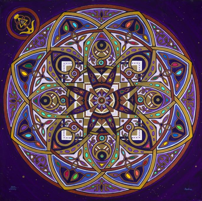 Sedna Mandala by Artist Stephen Meakin