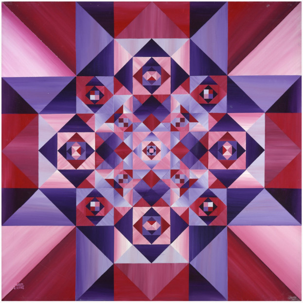 Amazing 3D Mandala by Christian Mandala Artist Stephen Meakin
