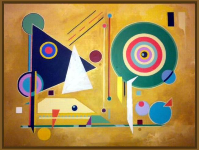 Artist Stephen Meakin Green Circles